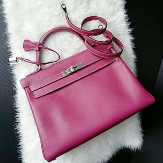 💗Hermes 32cm Candy Kelly 2 tone💗