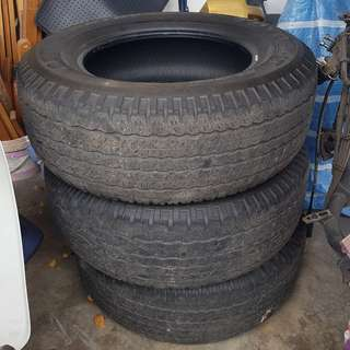 4X4 Used Tyres 265/65R17 112S
