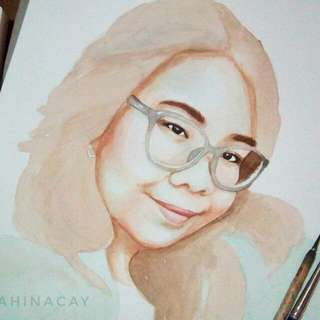 Watercolor Painting Portraits