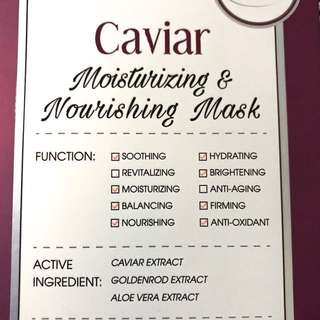 Caviar Moisturizing and Nourishing Mask