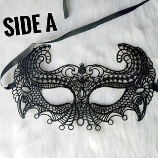 2 In 1 Lace Mask