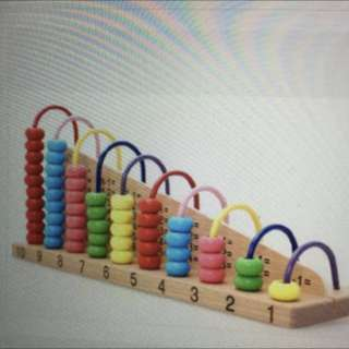 Montessori Counting - Abacus