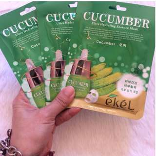 Ekel Ultra Hydrating Essence Facial Mask in Cucumber