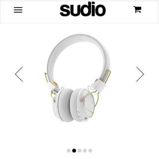 Sudio Wireless Regent Headphones - white colour