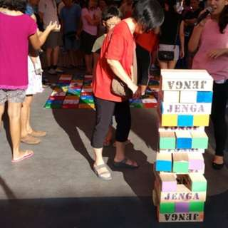 Giant Jenga for Rent