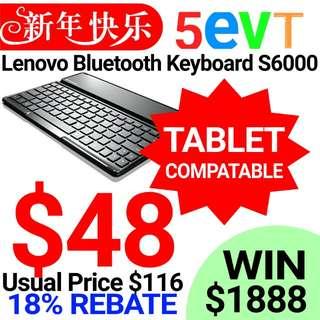 Lenovo Compact Bluetooth Keyboard S6000