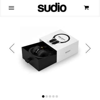 Sudio Wireless Regent Headphones - Black