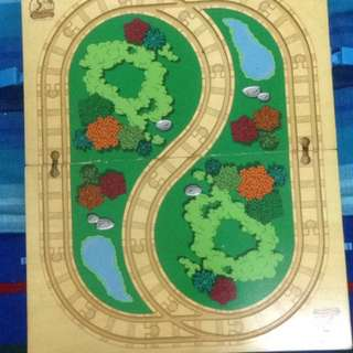 Thomas and friends wood track