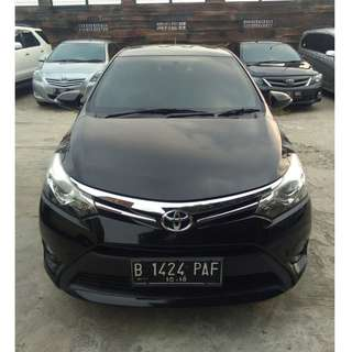 2013 Vios G AT Hitam Metalik
