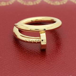 🆕 Cartier inspired gold ring
