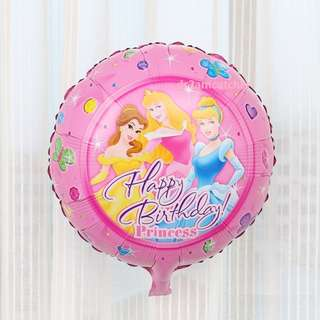 disney princess balloons! many designs available