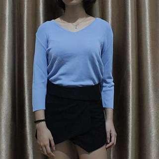 Knitted top // atasan