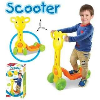 Giraffe 4 Wheels Kid Scooter