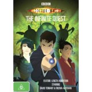 Doctor Who infinite quest DVD