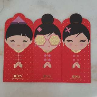 2018 Ang Pow Red Packets from DBS