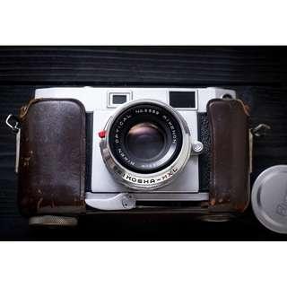 Ricoh 35 De Luxe rangefinder film camera