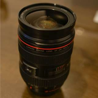 Canon 24-70mm F2.L USM (mark 1)