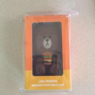 LINE Brown Fan Macdonalds