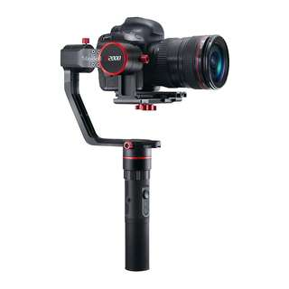 Feiyu a2000 Alpha series 3-Axis Handheld Gimbal Stabilizer for Mirrorless and DSLR Cameras up to 2kg payload