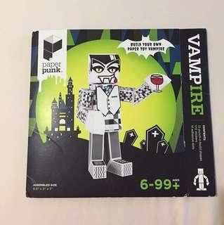 Paper Toy Vampire / Paper Toy Werewolf
