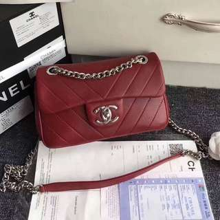 Chanel small rectangular single flap