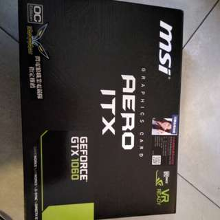 MSI 1060 AERO ITX