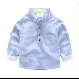 BN Boy's Collared Shirt