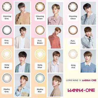 [Pre-order] Wanna One X Lens Nine Wannaful Contact Lens (Lensnine)