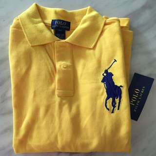New Polo Ralph Lauren Long Sleeve Polo Shirt