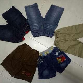 Bundle of kids shorts