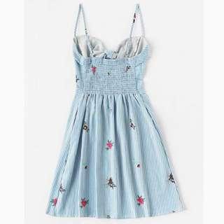Drawstring Summer Dress