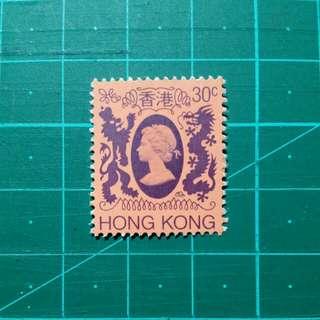 [贈品]1982 伊莉莎白二世第四組通用郵票 新票一枚