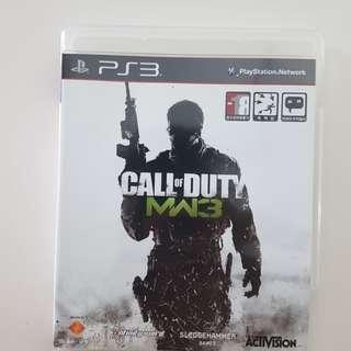 PS3 COD: Modern Warfare 3