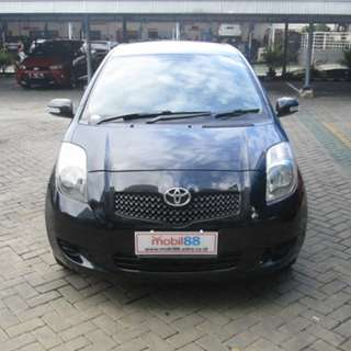 2008 Yaris E MT Hitam Metalik