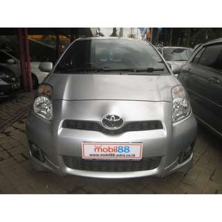 2012 Yaris S Ltd AT Silver Metalik
