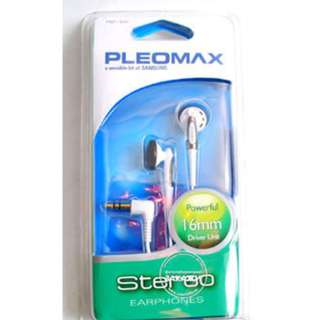 Pleomax Stereo Earphones (PEP100)