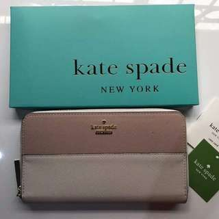 Kate Spade Lacey Long Wallet