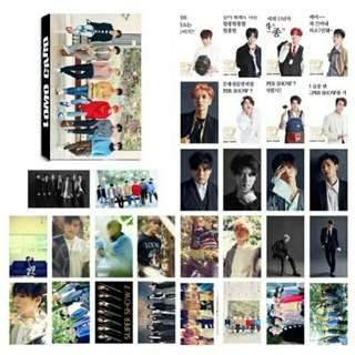 super junior 30 pcs lomo card