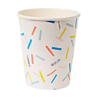 Colourful Sprinkles Cups (Set of 12)