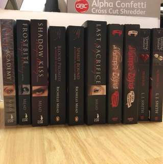 Vampire Books Series