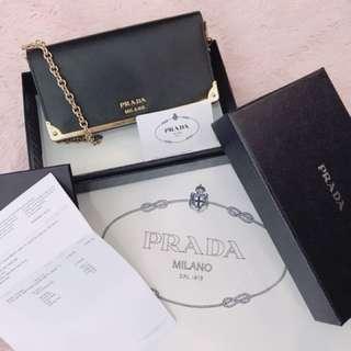 Prada Bag and Wallet 2 in 1 , 50% discount,100% original