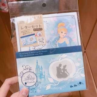 Cinderella灰姑娘信紙❤️