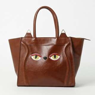 【預購】日本 muchacha品牌 貓咪 皮革 包