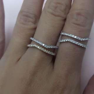 18K鑽石戒指💍
