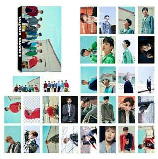 monsta x 30 pcs lomo card