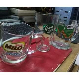 Vintage 5 Milo Green Spot Kfc Gelas Mug