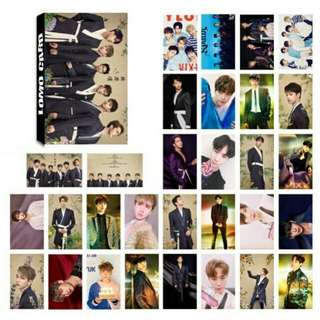vixx 30 pcs lomo card