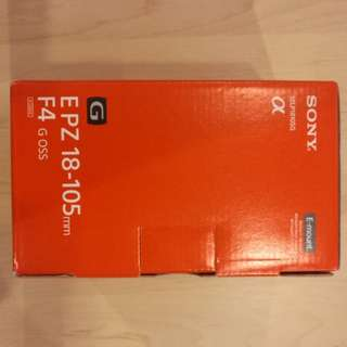 Sony 18-105mm f4G