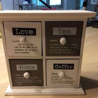 Cute boho drawer set