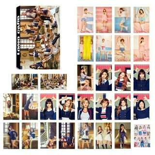 twice 30 pcs lomo cards
